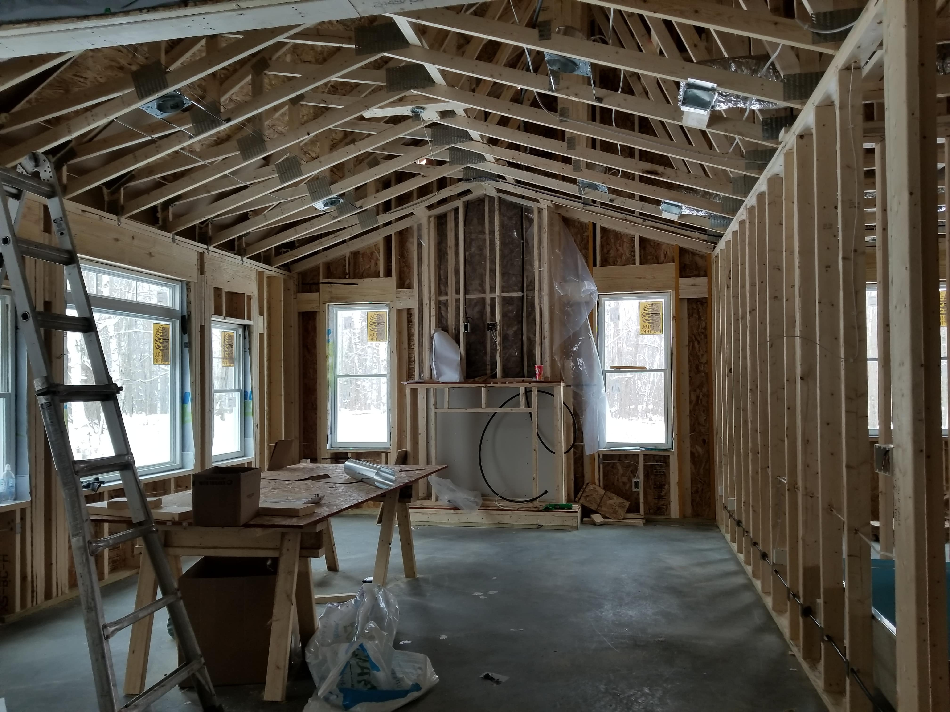 New Home Wiring Powerworks Inc Of House Efficient Light Fixtures Many Led Recess Can Lights Which Use Very Little Energy And Ensure That The Owners Will Have A Nice To Move Into